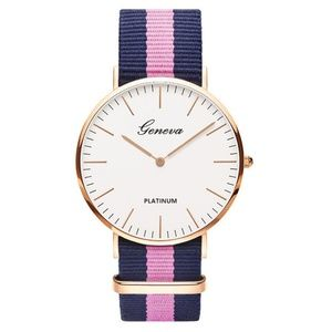 *BRUNA* Blue x Pink Casual Fashion Quartz Watch